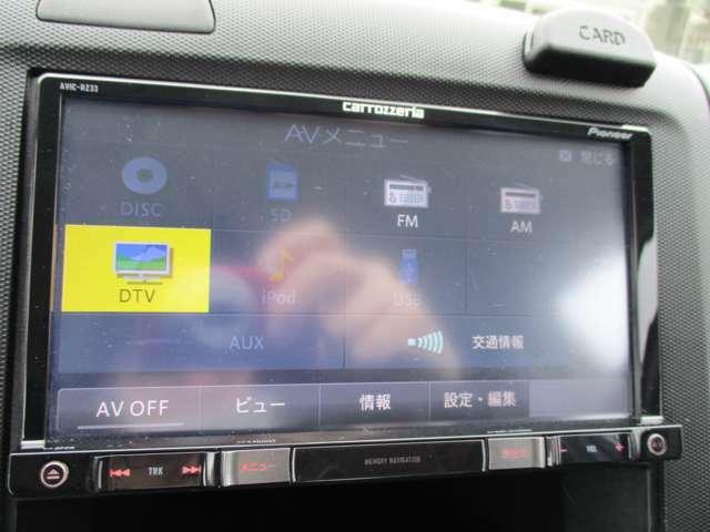 CD、ワンセグテレビ、SD音楽再生装備しております!快適な車内環境でドライブをお楽しみください♪