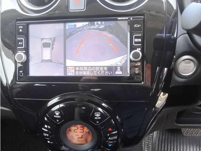 純正ナビフルセグTV全周囲カメラ DVD再生 CD録音 ブルートゥース 携帯ハンズフリー ETC スマートルームミラー 全周囲カメラは車庫入れや駐車の強い味方です♪ 狭い場所での駐車も楽々ですよ!