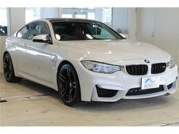 BMW M4クーペ M DCT ドライブロジック 純正ナビBカメラ純正19AWドラレコ