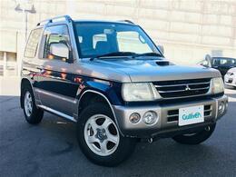 三菱 パジェロミニ 660 アニバーサリー リミテッド V 4WD 社外ナビ フルセグTV ETC 純15インチAW