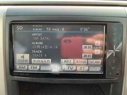 純正SDナビ (CD・DVD・Bluetooth・フルセグ)