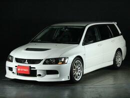 三菱 ランサーエボリューションワゴン 2.0 GT-A MR 4WD ワンオーナー車  限定モデル OP車高調