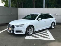 アウディ S4アバント 3.0 4WD 認定中古車 Sスポーツシート