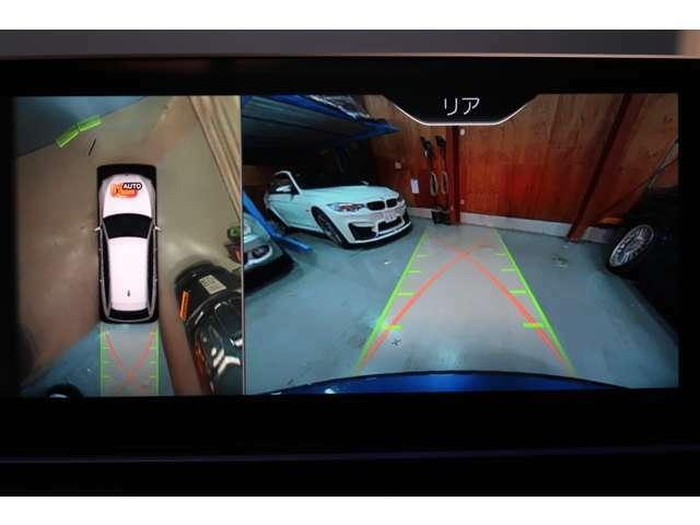 駐車場での必需品、バックカメラ付き☆ アラウンドビューモニター死角確認もでき安心です。安心のクリアランスソナー付きです。