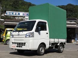 ダイハツ ハイゼットトラック 660 スタンダード 3方開 幌 エアコン パワステ 走行2.8万km