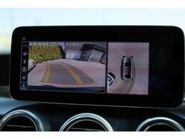限定車ローレウスエディションですので、通常モデルでは設定のない360°カメラが付いております。