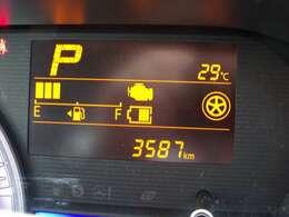 マルチインフォメーションディスプレイ☆ディスプレイには平均燃費や航続可能距離、外気温計など表示できます☆平均燃費が良くなるとちょっとうれしいですよね☆ますますエコドライブしたくなります☆