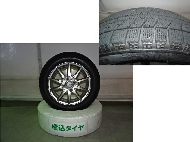 嬉しい夏冬タイヤ付★☆ 冬タイヤの溝もしっかりございます!