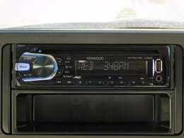 ☆CD・AM/FMラジオ♪☆ お手持ちのデジタルオーディオプレーヤーなどをつないで楽しめるUSB&AUX端子(Ф3.5プラグ)付