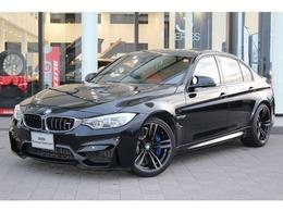 BMW M3セダン M DCT ドライブロジック 認定中古車 禁煙車 黒レザー 純正ナビ