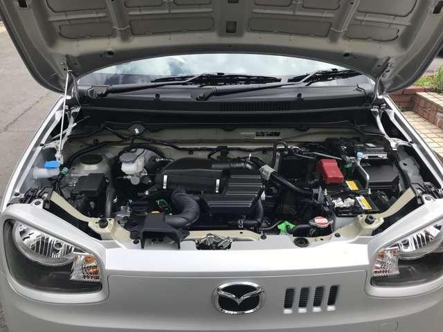 軽量で力強いパワーと静粛性を誇るR06A型エンジン搭載。CVTの変速比を最適化し、高い燃費性能を実現しています。