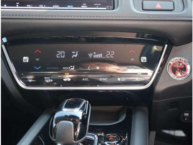 左右独立温度コントロールオートエアコン