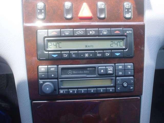 ■オーディオもノーマルですので、ラジオとカセットのみです。