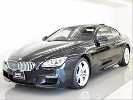 BMW 6シリーズ 650i Mスポーツパッケージ SR 黒革 コンフォートP ALED HUD 19AW