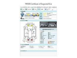 車両評価書