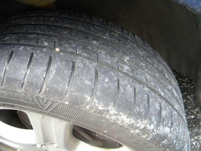 タイヤ溝もOK
