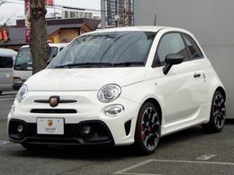 アバルト 595 コンペティツィオーネ スティーレ 限定モデル 登録済未使用車 新車保証継承