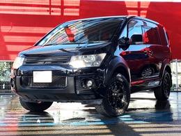 三菱 デリカD:5 2.4 G プレミアム 4WD MKW16AW・ROARグリル・ナビBカメ両側電動