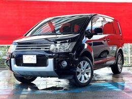 三菱 デリカD:5 2.4 G プレミアム 4WD 1オーナー・ROARグリル・ナビBカメ両側電動