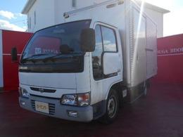 日産 アトラス 3.2 ロング スーパーロー DX ディーゼル 5速マニュアル/アルミバン/ワンオーナー