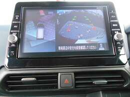 アラウンドモニター搭載で、周囲の安全確認ができますので、車庫入れなどに便利ですよ。