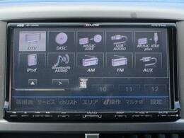 ■ 装備4 ■ オーディオ・ビジュアル機能一覧:充実のオーディオ機能一覧!(別途ナビ裏に配線の追加が必要な機能もございます)