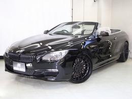 BMW 6シリーズカブリオレ 640i ベ-ジュ本革シ-トヒ-タ ナビTV 禁煙 記録簿