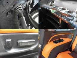 HKS車高調 助席テーブル パワーシート 内装レザー調シート張替
