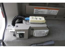 ウインチリモコン&電動固定スイッチです。