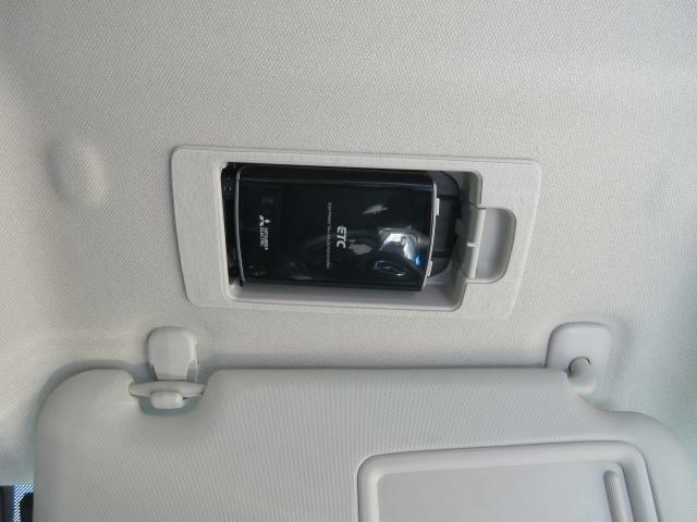 ETC車載機も装備しています!料金所をスマートに通過できる必須アイテムです。