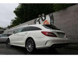 人気のステーションワゴン!CLS220d シューティングブレーク ブルーテック AMGライン入庫です!外装はメーカーオプションカラーのダイヤモンドホワイトを配色!