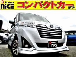 トヨタ ルーミー 1.0 カスタム G S 安全ブレーキ・クルコンBカメラ・社外ナビ
