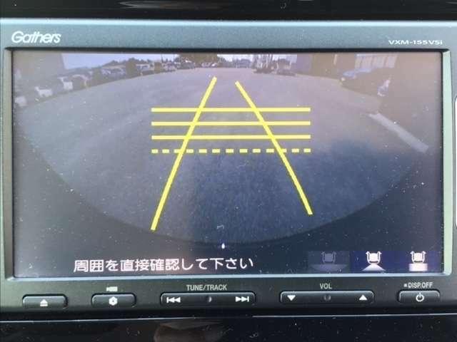 ★バックカメラ★駐車や後退時、後方はバックモニターがサポートしてくれますので安心感が増しますよね。大切なお車を傷つけないためにも必須アイテムですよね♪