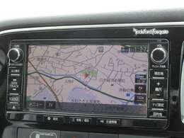ロックフォードサラウンドシステム Bluetooth USB DVD ナビ連動ETC