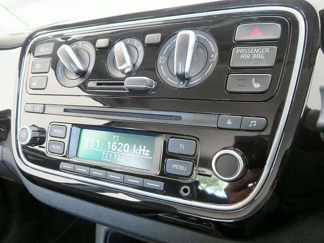 ◆純正CDデッキ/AM・FMラジオ付き/音楽等をお楽しみください/簡単操作のダイヤル式スイッチのマニュアルエアコン◆