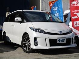 トヨタ エスティマ 2.4 アエラス Bluetooth対応ナビ・Bカメ・両側電動Sドア