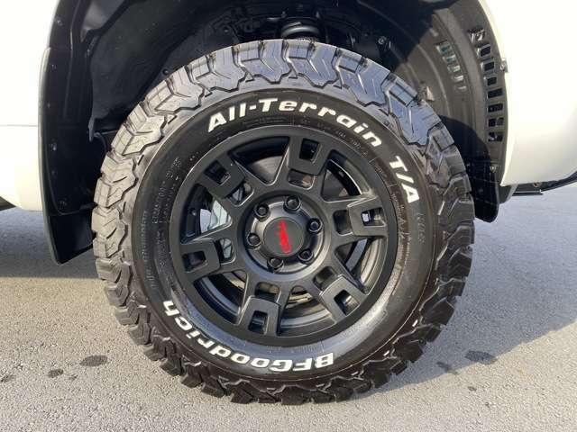 US製新品TRDアルミホイル 新品グッドリッチタイヤ
