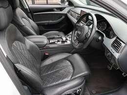 Audiのハイエンドモデルです。高級感が違います。是非ご覧ください。