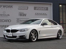 BMW 4シリーズクーペ 420i スポーツ 社外19AW 車高調 社外マフラー LEDフォグ