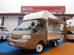 日産 バネットトラック 1.8 GL ロング ダブルタイヤ 新規製作オリジナルキッチンカー AC付き