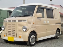 マツダ スクラム 660 バスター ハイルーフ フレンチバス仕様 ナビ ETC キーレス