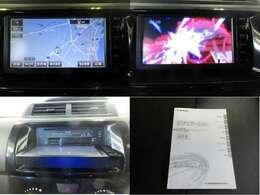 トヨタ純正SDナビ!シンプルなので操作簡単!テレビも見られます。
