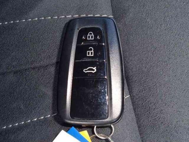 キーレス付です。ボタン1つでドアロックの開閉ができます!