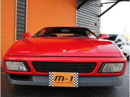 平成2年式(90y)フェラーリ348tb!正規ディーラー車!左ハンドル!黒本革シート!ベルリネッタモデル!走行距離10200km!フルオリジナルフェラーリ348tb!