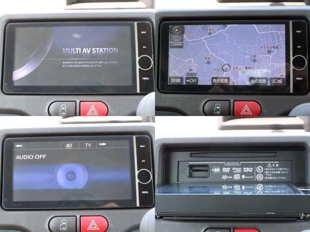 地デジ対応純正HDDナビ&CD&MP3&DVDビデオ&SDの組み合わせで、HDDに録音が可能です。 BTオーディオで色々なポータブル機器にも対応しハンズフリーフォンの使用も可能です。