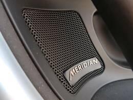 MERIDIANサウンドシステム『英国のオーディオブランドMERIDIANと共同開発された専用サラウンドシステムにより臨場感あふれるサウンドで包み込まれる上質なオーディオ体験が堪能できます。』