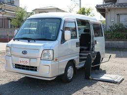スバル サンバー 660 トランスポーター スーパーチャージャー 電動リフター キーレス 車検R4/9