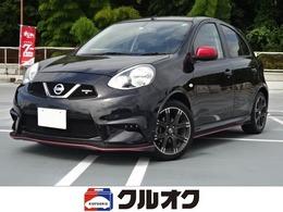 日産 マーチ 1.5 NISMO S 5MT 1オーナー 禁煙車 ニスモタワーバー