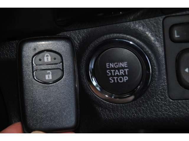 【プッシュエンジンスタート】エンジン始動・停止をワンタッチで行えます!