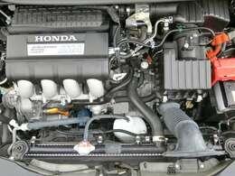 アクセルを踏み込むほどに気持ちよく伸びてゆく、1.5L  i-VTECエンジン